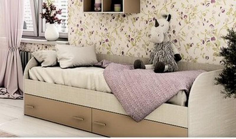 Кровать детская с ящиками КР-01 Морис БТ