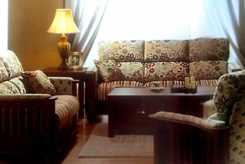 Комплект мягкой мебели ГАМБУРГ 504 (3+1+1)