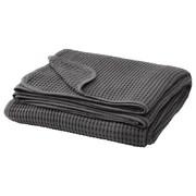 Покрывало (ВОРЕЛЬД) темно-серый (230х250 см) IKEA