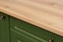 Кухонный гарнитур: МДФ Квадро классика дуб болотный  - 13