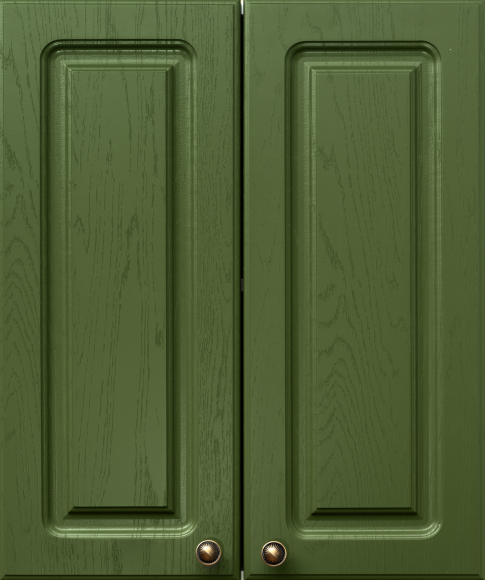 Кухонный гарнитур: МДФ Квадро классика дуб болотный  - 5