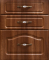 Кухонный гарнитур МДФ классика орех жемчужный.корпус береза - 12