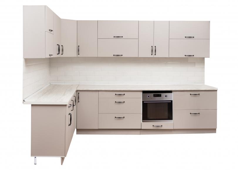 Кухонный гарнитур  МДФ  мускат структурный