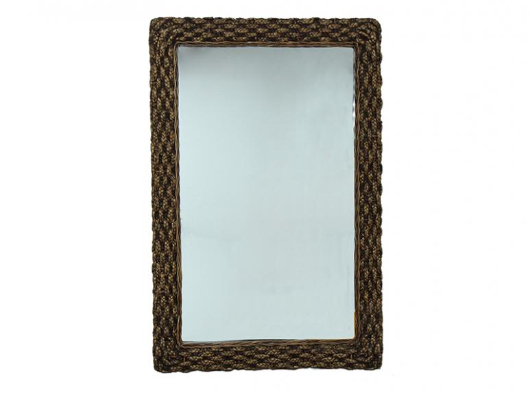 Зеркало из ротанга Виола