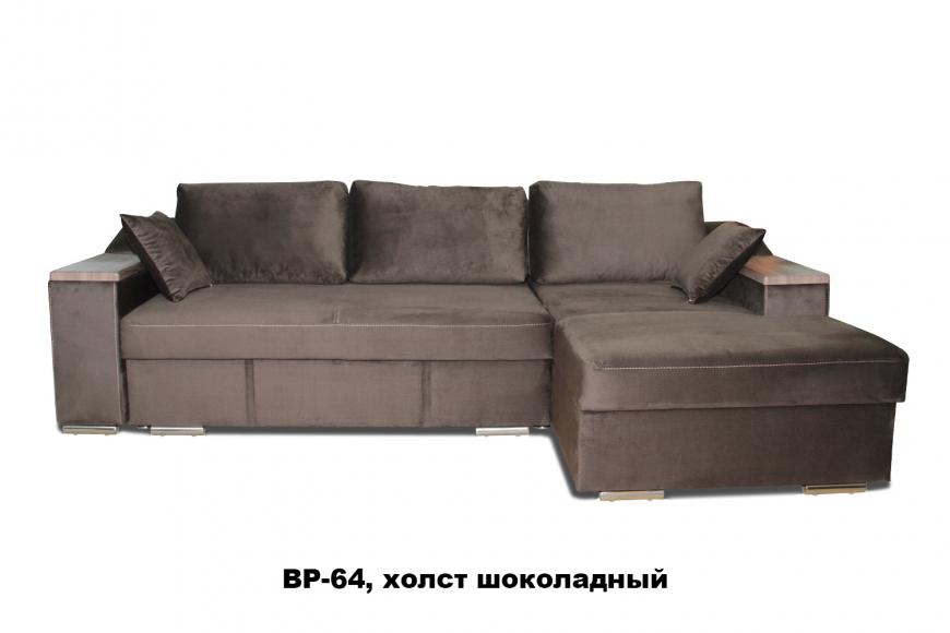 Турин угловой диван еврокнижка (правый)