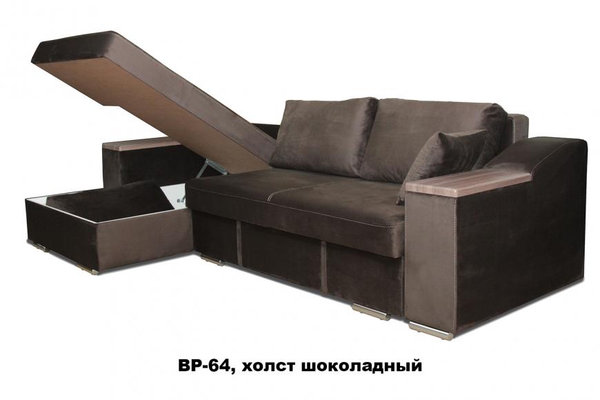 Турин угловой диван еврокнижка (левый) - 3