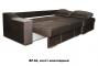 Турин угловой диван еврокнижка (правый) - 42