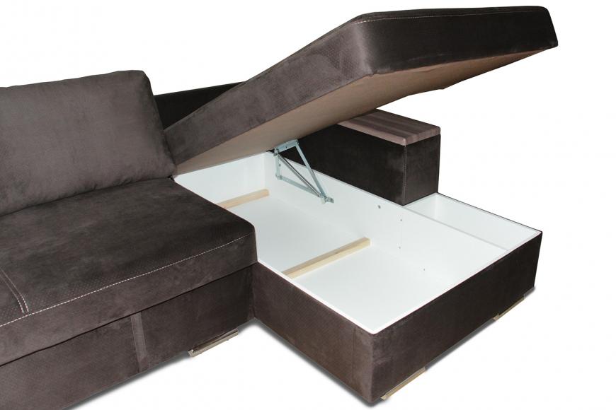 Турин угловой диван еврокнижка (правый) - 8