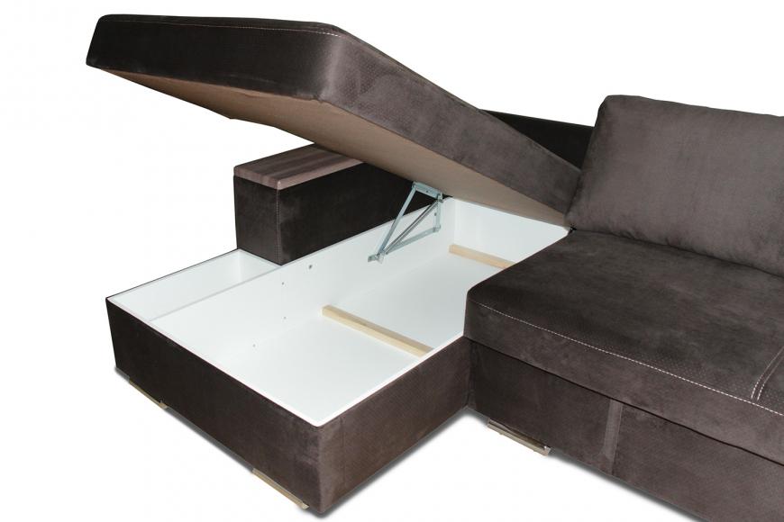Турин угловой диван еврокнижка (левый) - 6