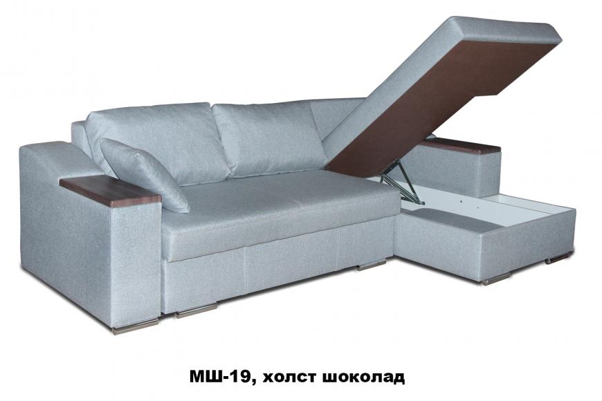 Турин угловой диван еврокнижка (правый) - 13