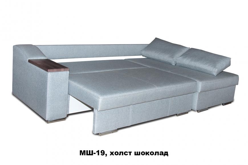 Турин угловой диван еврокнижка (правый) - 14