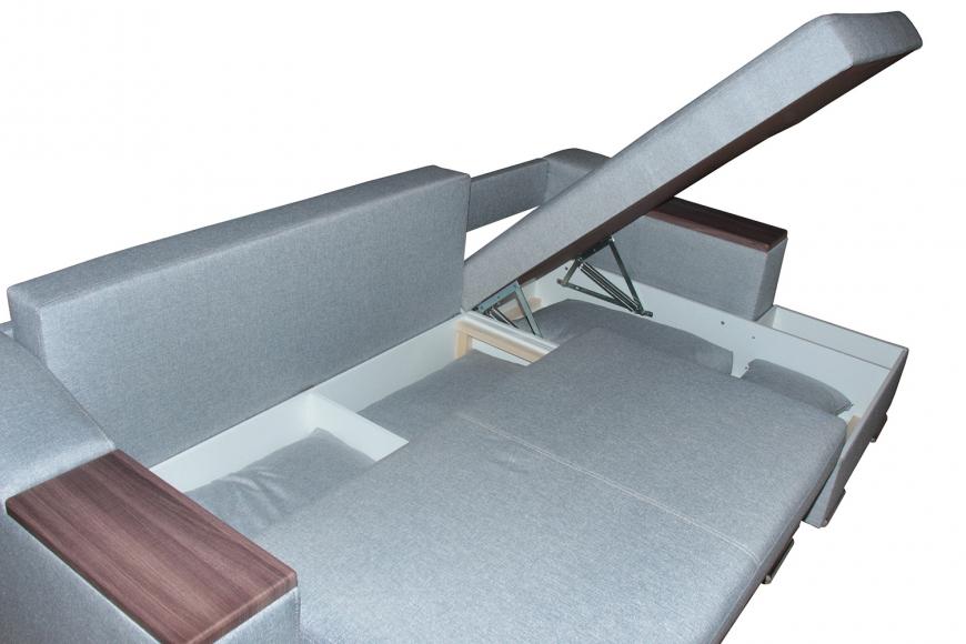 Турин угловой диван еврокнижка (правый) - 16