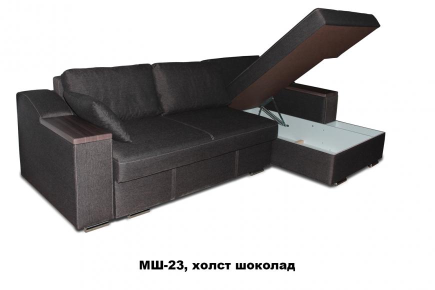 Турин угловой диван еврокнижка (правый) - 21