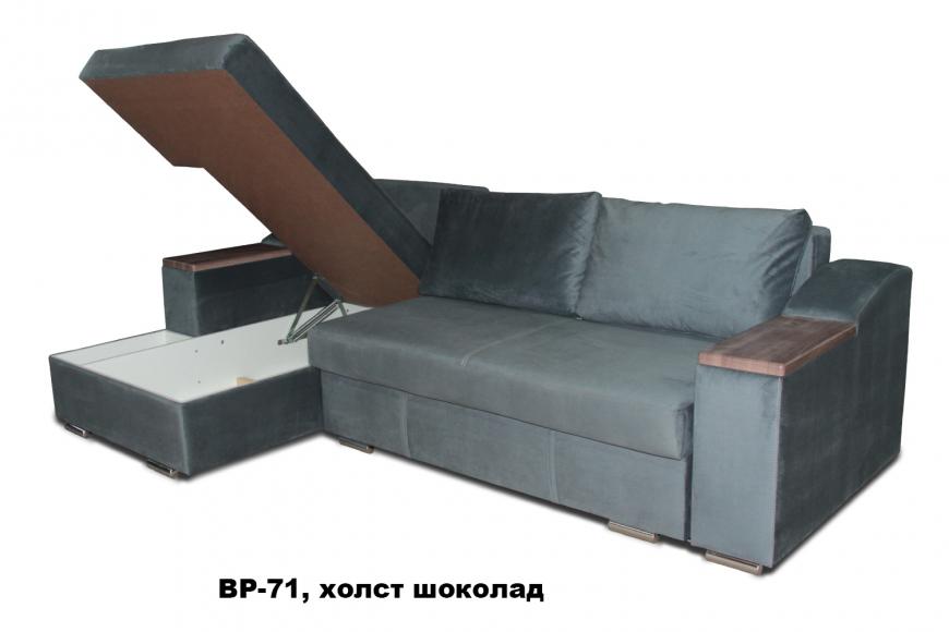 Турин угловой диван еврокнижка (левый) - 24