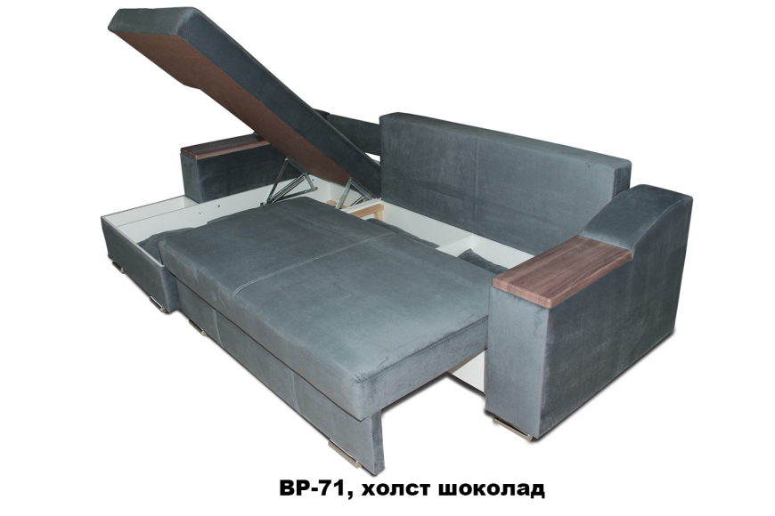 Турин угловой диван еврокнижка (левый) - 26