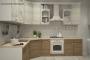 Классическая угловая кухня - 35