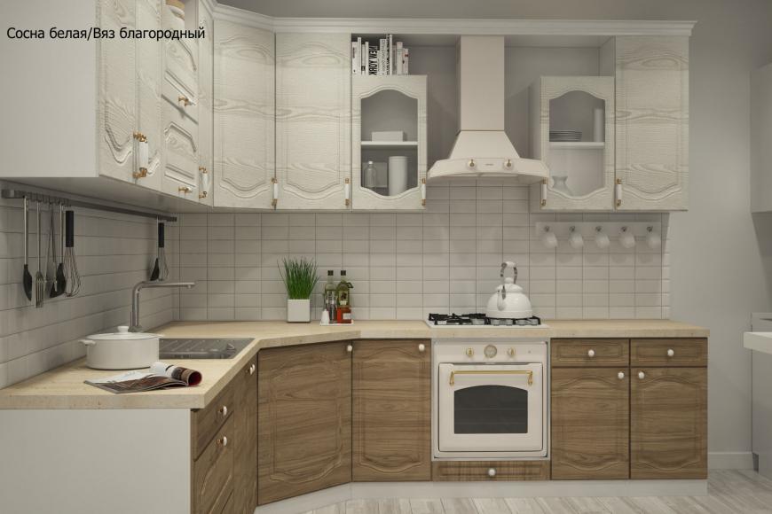 Классическая угловая кухня - 12