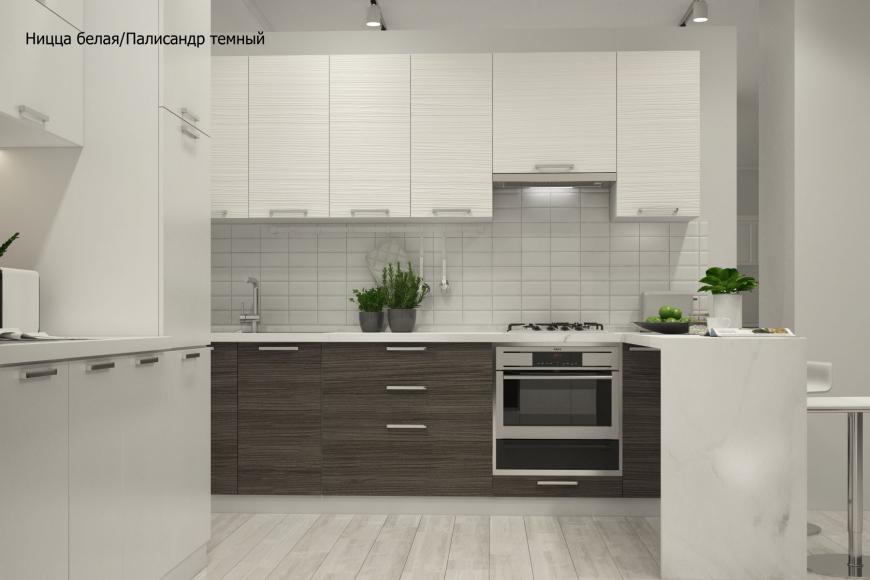 Кухня модерн угловая с барной стойкой - 5