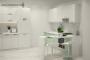 Кухня модерн угловая с барной стойкой - 13