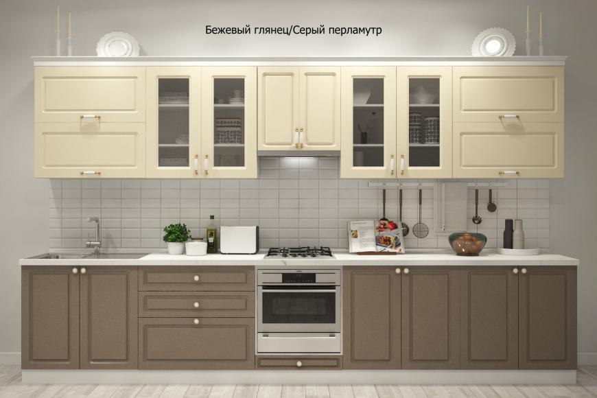 Кухня неоклассика прямая