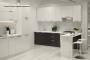 Кухня модерн угловая с барной стойкой - 12