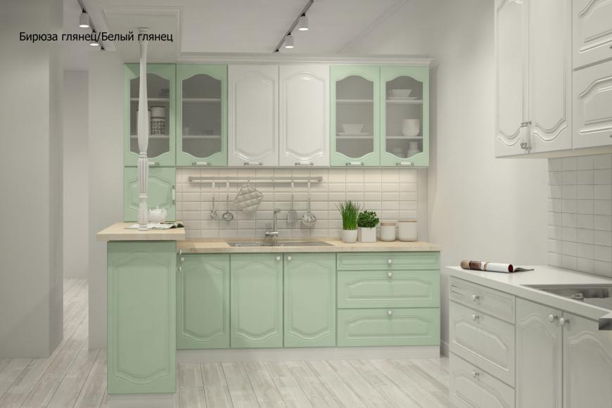 Классическая прямая кухня - 3