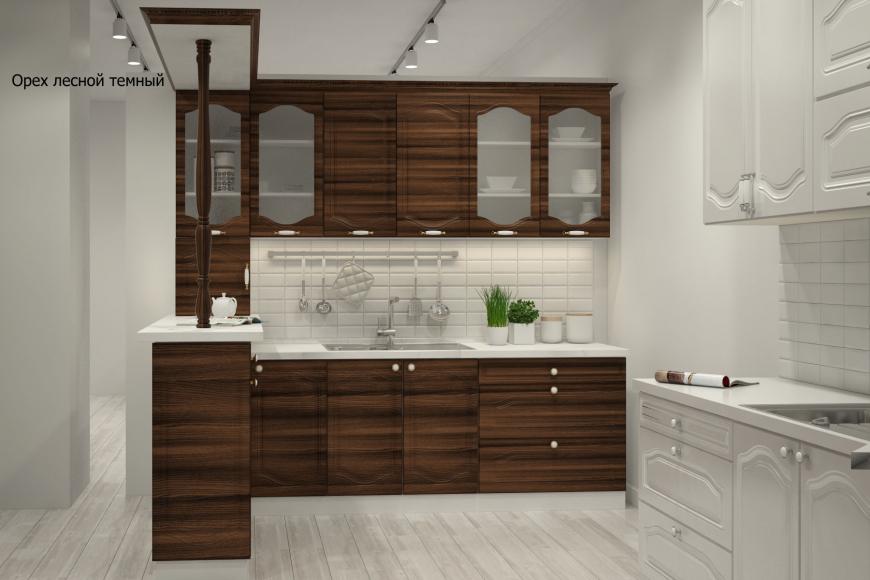 Классическая прямая кухня - 7
