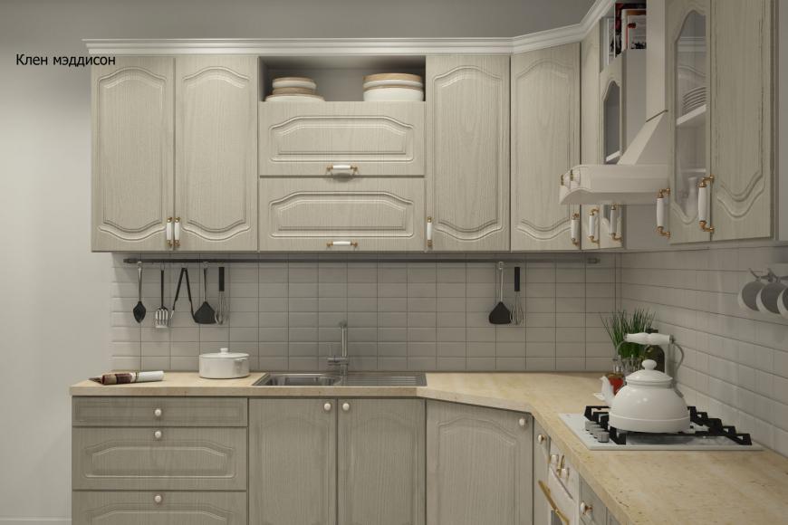 Классическая угловая кухня - 5