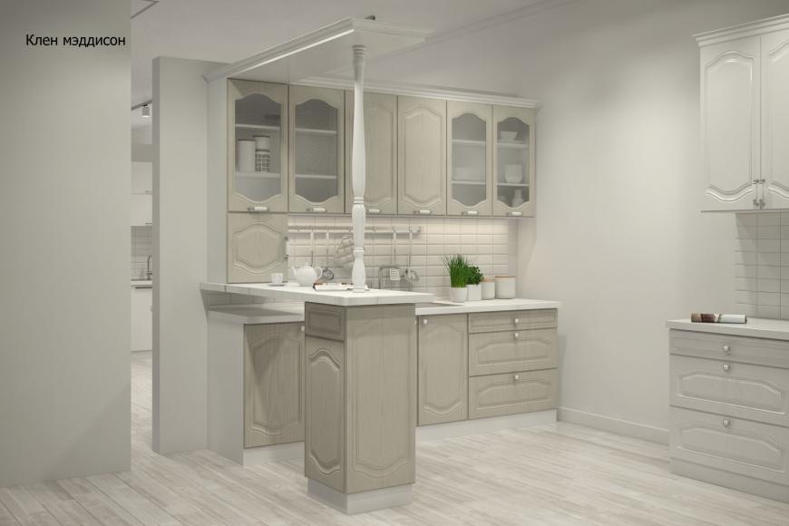 Классическая прямая кухня - 4