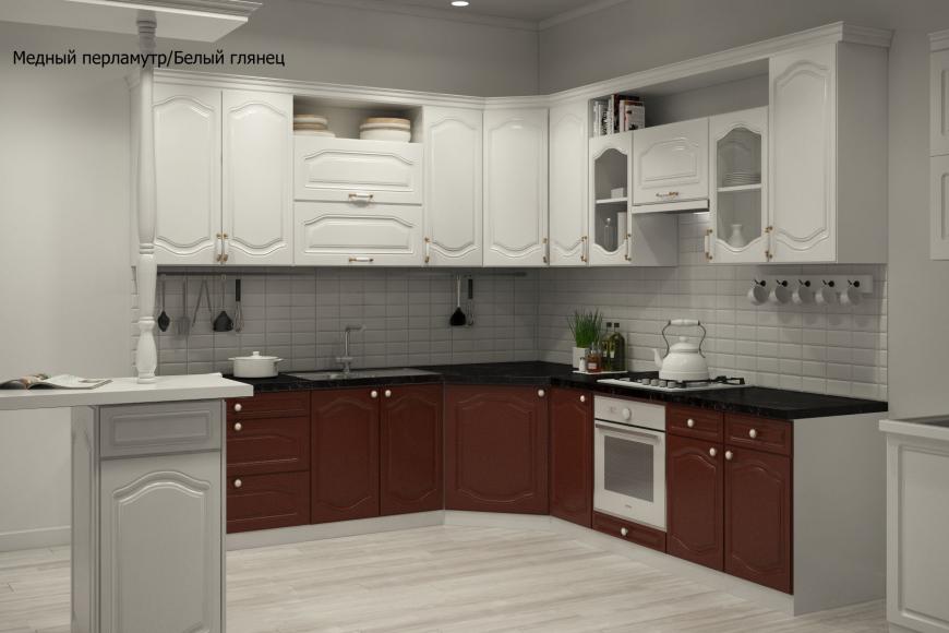 Классическая угловая кухня - 7