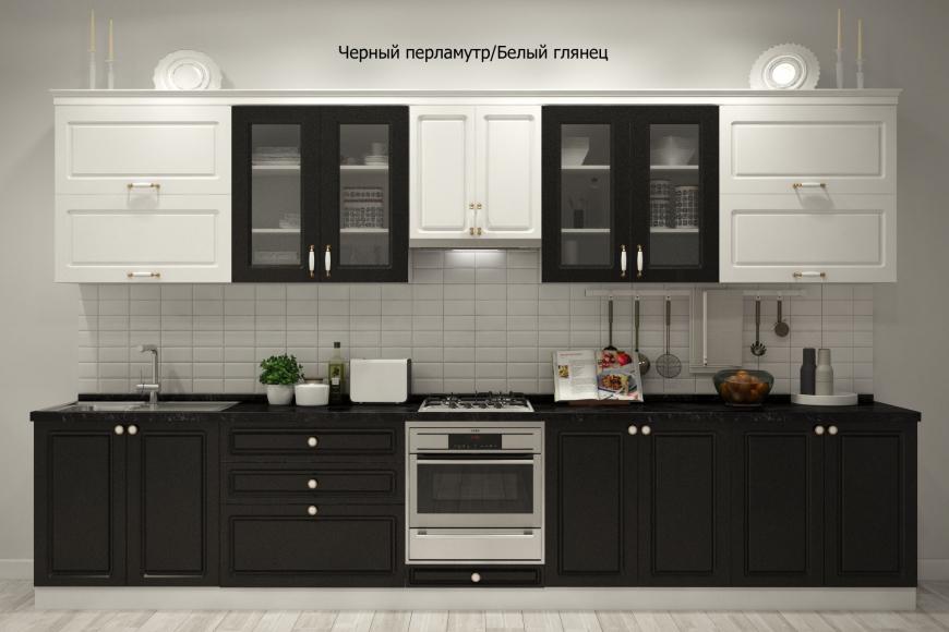 Кухня неоклассика прямая - 11