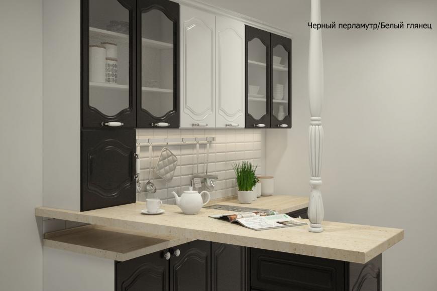 Классическая прямая кухня - 12