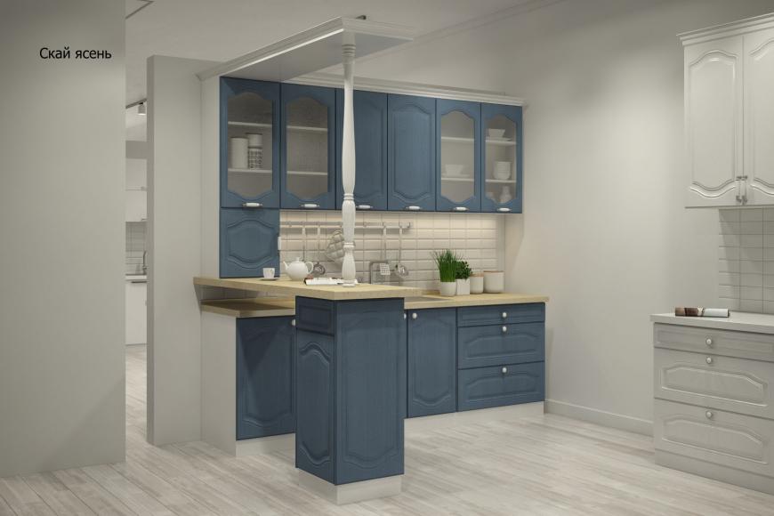 Классическая прямая кухня - 9