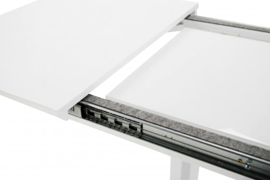 Стол  MK-5518-WT обеденный раскладной 80х120(170)х - 5