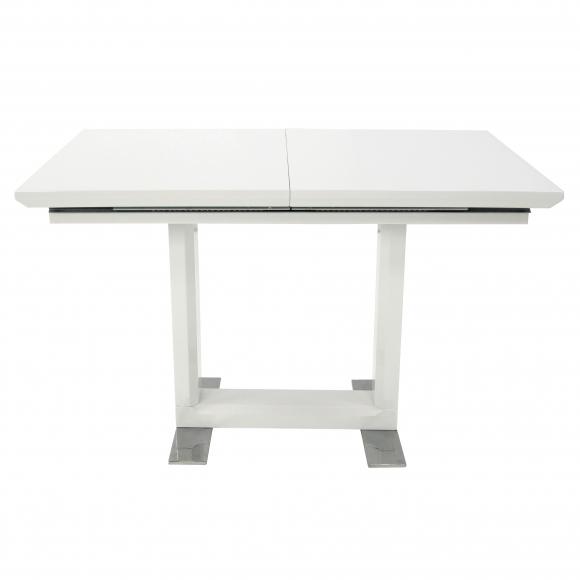 Стол  MK-5518-WT обеденный раскладной 80х120(170)х