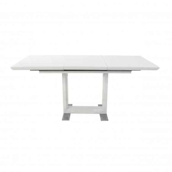 Стол  MK-5518-WT обеденный раскладной 80х120(170)х - 2