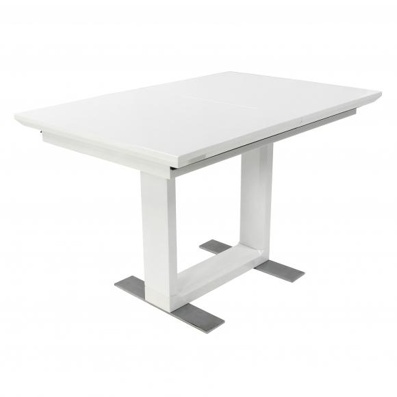 Стол  MK-5518-WT обеденный раскладной 80х120(170)х - 3
