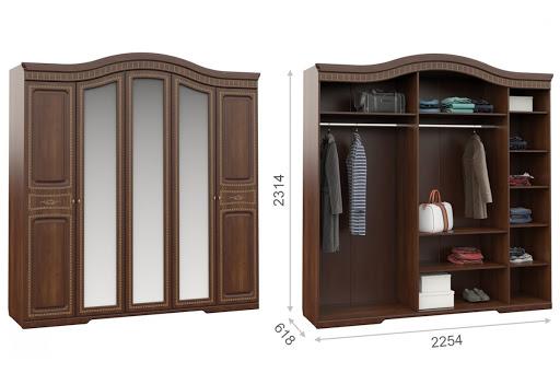 Спальня Диана Кр.1,8 МИ. 5D Имп - 7