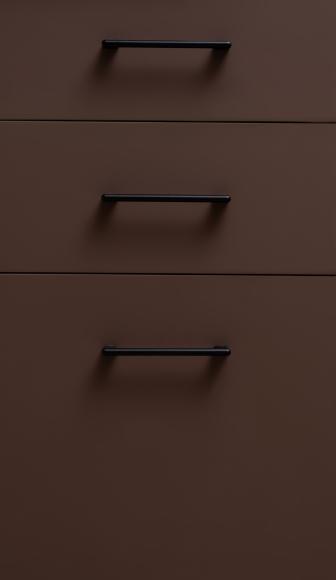 Кухонный гарнитур МДФ ФГЛ верх спелое манго/молочный шоколад - 6