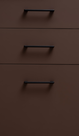 Кухонный гарнитур МДФ ФГЛ верх спелое манго/молочный шоколад - 11