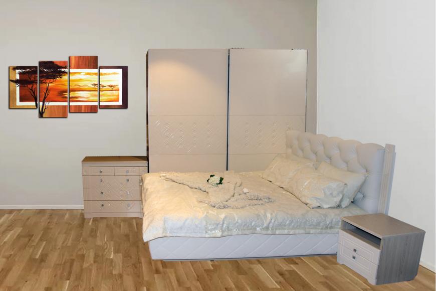 Спальня  Капелла кр1,6  шкаф купе АВК