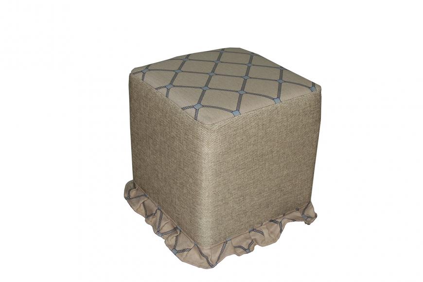 Пуфик квадратный - 4
