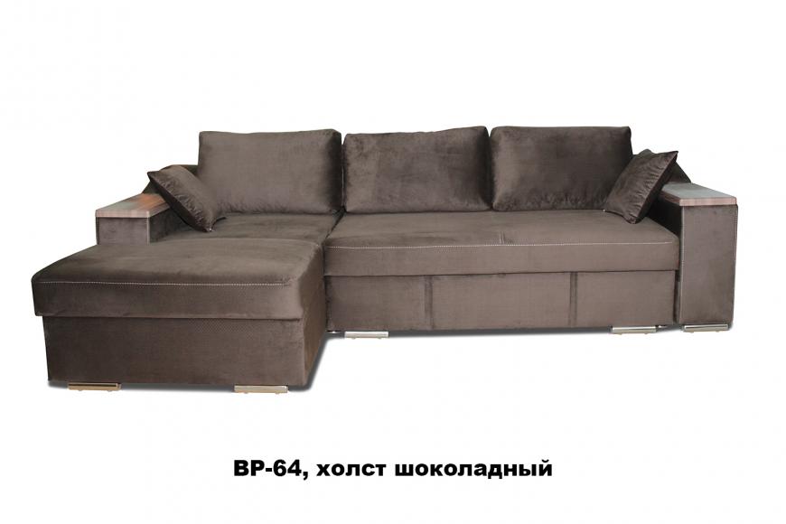 Турин угловой диван еврокнижка (левый)