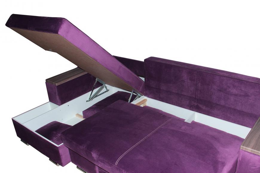 Турин угловой диван еврокнижка (левый) - 17