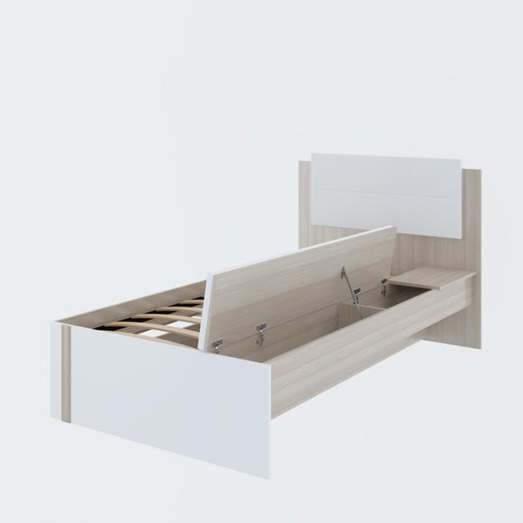 Кровать 0,8*1950  № 14 Walker Рин. - 2