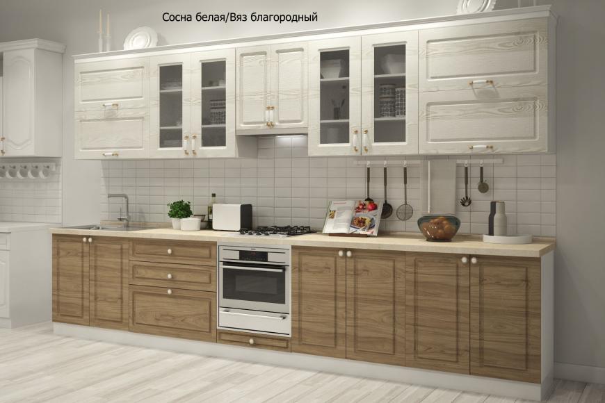 Кухня неоклассика прямая - 10