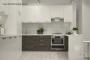 Кухня модерн угловая с барной стойкой - 16