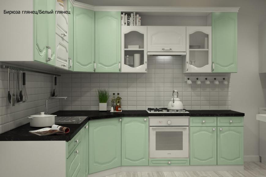 Классическая угловая кухня - 3