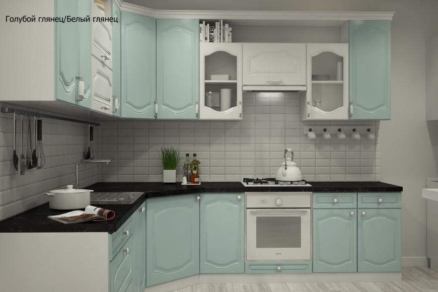 Классическая угловая кухня - 4