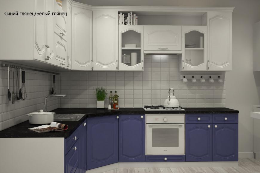 Классическая угловая кухня - 9